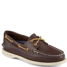 9195017 Sperry Women's Authentic Original 2-Eye Boat Shoes - Brown www.bootbay.com