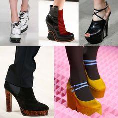 Shoe trends FW15 / Cipődivat 2015 ősz tél