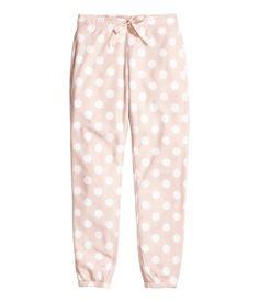 Pyjamahose aus Fleece. #hm