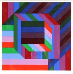Victor Vasarely - Byss,1979.