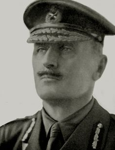 Field Marshal Edmund Henry Hynman Allenby, 1st Viscount Allenby, one of the most successful British commanders of WW1, conqueror of Jerusalem and Palestine.