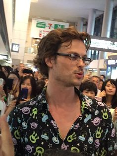 #MatthewGrayGubler arrives in Japan. June 2016.