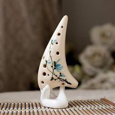 12 holes alto C ceramic ocarinas China wind style