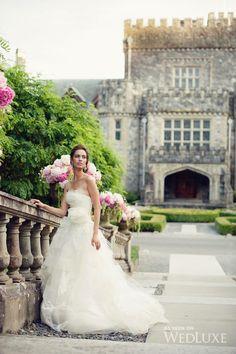 The Secret Garden at Hatley Castle Perfect Wedding, Dream Wedding, Wedding Day, Wedding Pics, Wedding Dresses, Wedding Stuff, Hatley Castle, European Garden, Vera Wang Dress