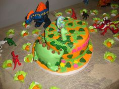 Aniversário mais criativo da casa até hoje: dinossauros para comemorar os 6 anos de Amariah!