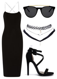 """#NIGHTOUT"" by reikantse on Polyvore"