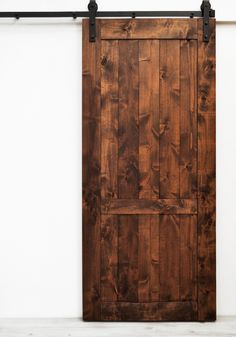 Barn Door Country Vintage - Walnut