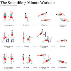 HIIT - 30 seconds each exercise, 10 second break, 8 effort on scale of 1-10