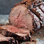 Easy to make yet impressive to serve fordinner. This beef roast recipe is easily adaptable to cook to your own taste. Enjoy! I know right. Will wonders never cease. It's not adessert recipe. I know. I know. I post A LOT ofdessert recipes. It's my thing. However today you are in for a treat. Today is a special roast recipe. What's so special about it? Up until I made this particular recipe I had always hated sirloin. I have always thought of it as chewy, and flavourless. I know,...