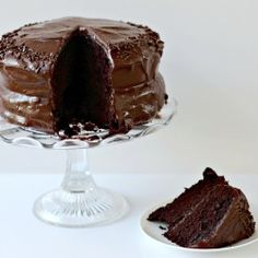 Darkest Chocolate Crepe Cake | Recipe | Crepe Cake, Crepes and Cake ...