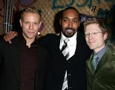 Jesse L. Martin, Adam Pascal and Anthony Rapp at event of Rent Rent Musical, Musical Theatre, Jesse L Martin, Spalding Gray, Cinderella Broadway, Six Degrees Of Separation, Rent Movies, The Last Ship, Little Shop Of Horrors