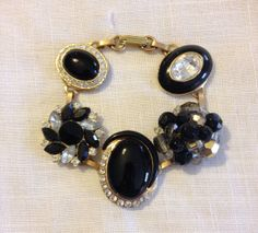 Earring Bracelet from Upcycled Vintage Earrings by heartsoftoday, $40.00