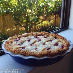 Best of Show Cherry Pie - Art of the Pie Recipe at http://artofthepie.com/best-of-show-cherry-pie/