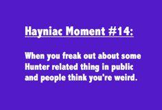Hayniac Moment # 14