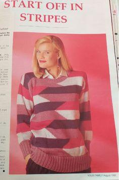 Magazine, Pullover, Sweaters, Fashion, Moda, Fashion Styles, Magazines, Sweater, Fashion Illustrations