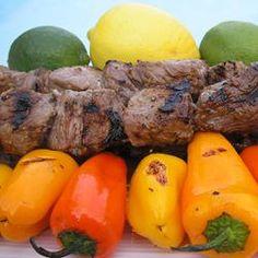 Margarita Beef Skewers Allrecipes.com
