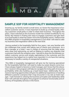 Our writers are experienced to deliver high quality MBA statement of purpose for hospitality management! Check out SoP sample and let us help you to succeed! Tourism Management, Business Management, Education In Malaysia, Resume Structure, University Of Mumbai, Enterprise Content Management, Manager Quotes, Healthcare Administration, Application Letters