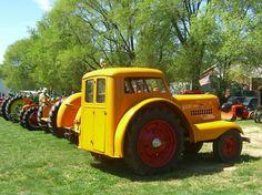 Minneapolis Moline Orchard Tractor