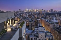 Amazing NY rooftop photograph, taken by French photographer Charles de Vaivre