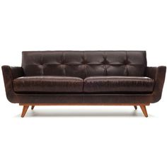 Thrive Nixon Leather Sofa ($3959) ? liked on Polyvore featuring home furniture  sc 1 st  Pinterest : thrive sectional - Sectionals, Sofas & Couches