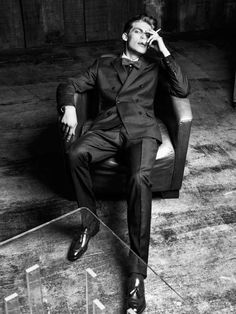 Debonair Elegance Editorials : Model Baptiste Radufe photography by Zed Daemen