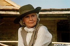 Barbara Stanwyck as Mary Carson in The Thorn Birds.