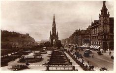 Princes Street Edinburgh looking west