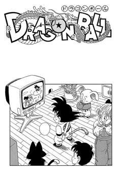 Goku, Bulma, Oolong, Yamcha, and Puar