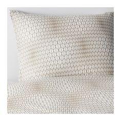 NATTLJUS Quilt cover and 4 pillowcases - 240x220/50x80 cm - IKEA