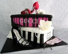 #GUCCI SHOE CAKE. by glenda