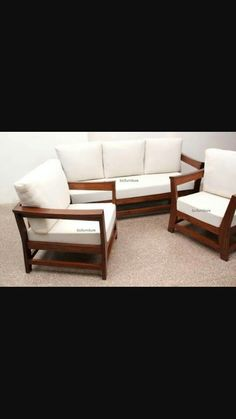 Wooden Sofa Set Designs, Sofa Design, Furniture Design, Furniture Ideas,  Teak, Sofas, Room Ideas, Wood