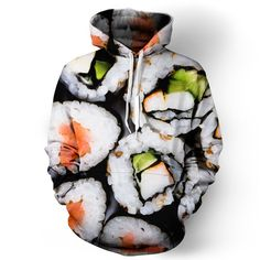 Beloved Shirts presents the Sushi Unisex Hoodie Estimated 10 business day production time + shipping time, unless coupled with products that have a longer Fashion Models, Women's Fashion, Fashion Killa, Unique Fashion, Korean Fashion, Winter Fashion, Bed Wrap, Beloved Shirts, Cool Hoodies