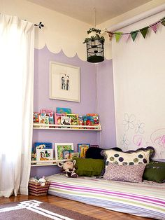 Kid-friendly bookshelves