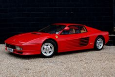 Ferrari Testarossa. A must have in the collection