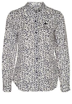 Lacoste Shirt marine/farine
