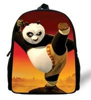 12-inch Mini Kung Fu Panda Backpack Boys Kindergarten Cartoon Bags Kids Backpack Children School Bags Mochila Infantil Menino