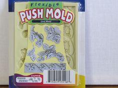New sculpey flexible push mold Summer LEAF MOTIF #APM18 #Sculpey