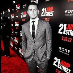 Channing Tatum #ChanningTatum at the '21 Jump Street' premiere.  #TatumPhotoADay #September #RedCarpet #Day9
