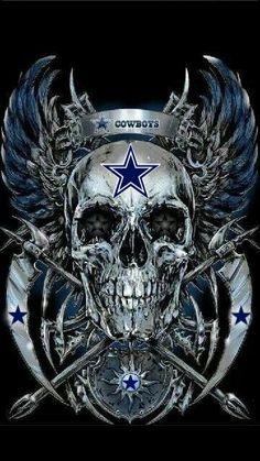 Blue Skull by Rafal Wechterowicz Cowboy Tattoos, Skull Tattoos, Dallas Cowboys Tattoo, Dallas Cowboys Wallpaper, Dallas Cowboys Pictures, Totenkopf Tattoos, How Bout Them Cowboys, Skull Pictures