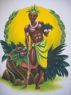 Ossain es un Orisha, él rige la naturaleza y es en sí la naturaleza misma. En el ser humano está en la parte izquierda del cuerpo. Con los conocimientos de Ossain se salva la vida y fortalece para la guerra, aleja la muerte. Es médico, dueño y sabio de todos los secretos de la naturaleza. Es conocedor de todas las plantas, animales y minerales. Es un Orisha adivino.