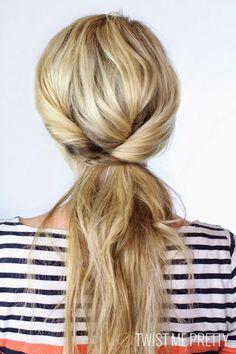 Running Late? 5 Minute Cute Hair Styles | MyThirtySpot