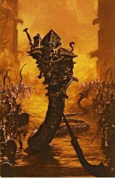 Rodeur Spectral, par (auteur inconnu), in Warhammer Battle 8e édition livre d'armée Rois des Tombes, par Games Workshop