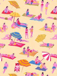 Leah Reena Goren #illustration #pattern