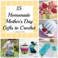 Mother's Day is right around the corner. This year, forget the typical bouquet of flowers, massage gift certificate, or store-bought article of clothing. Instead, surprise her with something homemade. You won't believe how many free patterns there ar