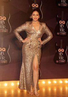 Huma Qureshi @ gq_men_of_the_year_awards ! Indian Actress Hot Pics, Bollywood Actress Hot Photos, Indian Bollywood Actress, Bollywood Girls, Beautiful Bollywood Actress, Most Beautiful Indian Actress, Bollywood Celebrities, Indian Actresses, Actress Photos