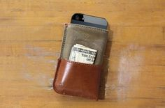 DodoCase iPhone 5 Wallet #gadget for $49.95 // pinned by @welkerpatrick
