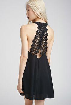 Crochet Strap Dress