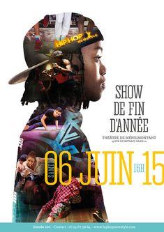 Hip hop poster - design on behance Creative Poster Design, Creative Posters, Graphic Design Posters, Poster Designs, Ad Design, Cover Design, Menilmontant Paris, Flyer Poster, Flyer Design Inspiration