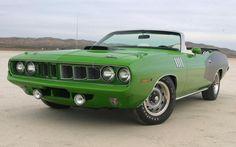 1971 Plymouth 426 Hemi Cuda Convertible