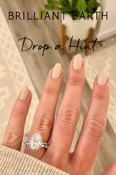 Dream Engagement Rings, Engagement Ring Styles, Engagement Ring Settings, Halloween Acrylic Nails, Fall Acrylic Nails, Love Ring, Dream Ring, Nail Dipping Powder Colors, Wedding Nails